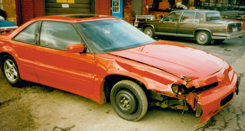 Pontiac Grand Prix before & after